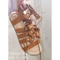 Brand New W/ Tags Denver Hayes Gladiator Sandals Barrie, L4N 5M8
