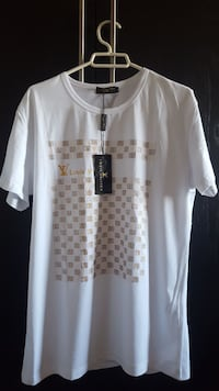 camiseta con cuello redondo de Louis Vuitton blanca Madrid, 28045