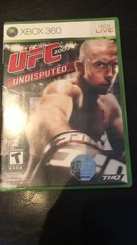 Ufc 2009 undisputed xbox 360 live preowned Toronto, M2P