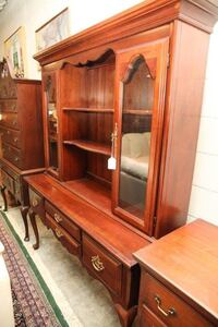 brown wooden display cabinet North Chesterfield, 23234