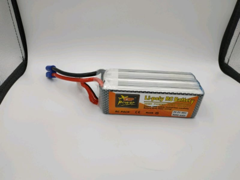 Zoppower lipo 5Ah battery 1