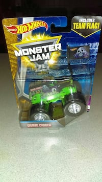 HOT WHEELS GRAVE DIGGER MONSTER JAM 25 YEARS NEW Naperville, 60563