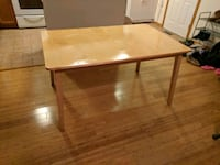rectangular brown wooden table Sycamore, 60178