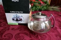 Coffee & tea pot stainless steel Dollard-des-Ormeaux, H9G 1S3