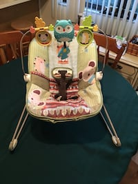 baby's white and green bouncer Ocala, 34470