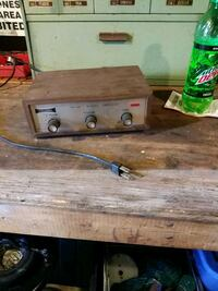 Old Columbia stereo amplifier