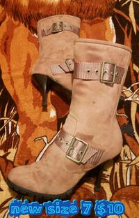 All these ladies boots are brand new sizes on them Las Vegas, 89169