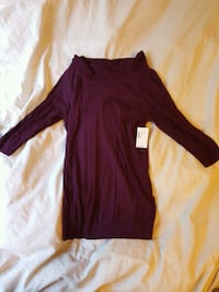 women's maroon long-sleeved dress Edmonton, T6G