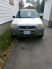 2002 4x4 Ford Escape XLT. Mississauga