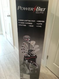 New-Golf Set (Right hand) and Speed Putter Grimsby