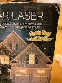Christmas light laser