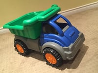 Toddler's green and blue plastic truck toy Markham, L3P 3W8