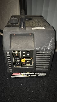 black Coleman Powermate portable power generator Naples, 34104