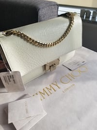 white leather Michael Kors tote bag Springfield, 22151