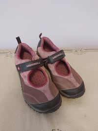 Girls leather shoes MERRELL Us 3 EUR 34 Toronto