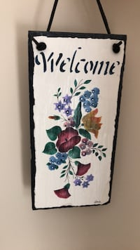 welcome wall hanging Sterling, 20165