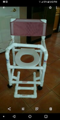 Rolling Shower Chair/Commode