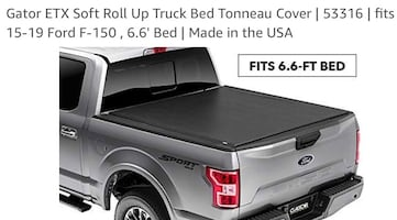 Tonneau Cover - Roll Up F-150 '15-'19 6ft bed