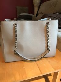 Michael Kors Pearl grey leather tote bag Surrey, V3S 1W2
