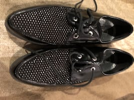 Cult womens black platforms sz 9.5/10 US