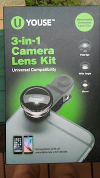3 in 1 camera lens kit for phone Pittsburgh, 15202