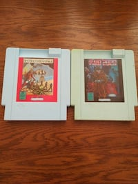 NES games Robodemons and Raid 2020 Vaughan, L4L