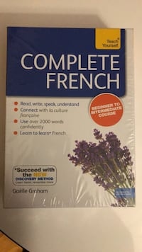 New sealed complete French teach your self Toronto, M9A 4Y3
