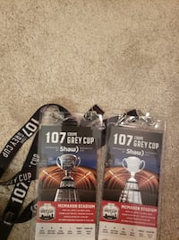Grey Cup Tickets (under face value) CALGARY