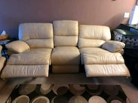 Leather power reclining sofa and chair Burnaby, V3N 4K2