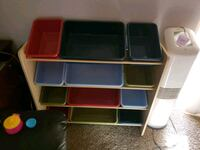 white, blue, and red plastic toy organizer Phoenix, 85012