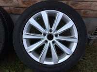"17"" VW Passat rims and tires 5x112 Grimsby, L3M"