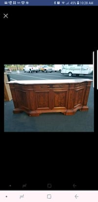 8ft long buffet server  comes with key. In excelle South Riding, 20152
