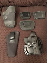 Gun holsters lot for sale.  Orlando, 32835