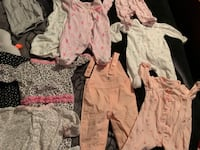 New born babygirl clothes