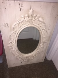 Beautiful large mirror wooden frame  31 km
