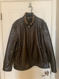 AUTHENTIC & beautiful Marc NY mens leather coat XL