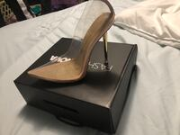 FASHION NOVA GLASS SLIPPER Toronto