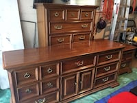 Solid pecan bedroom set Edmonton, T6A 1P5