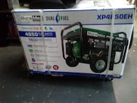 A real deal!  New Dual Fuel Generator 4830 watts Gainesville, 30501