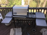 black and gray outdoor gas grill Fieldale, 24089