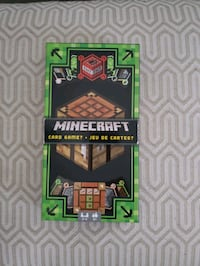 Minecraft card set