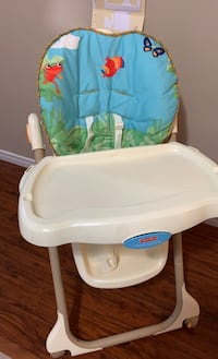 Fisher price high chair Surrey, V3S 3M7