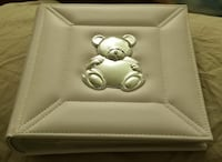 Baby Photo Book with Gold Teddy Bear Lancaster, 93534