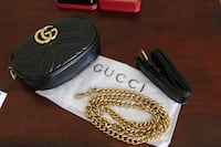 Black GG Marmont Fanny Pack Brand New Downey, 90240