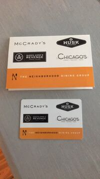 $60 for a $107.45 The Neighborhood Dining Group Gift Card