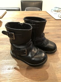 Baby motorcycle look boots