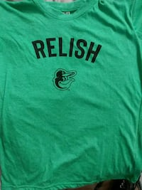 Orioles Relish t shirt Baltimore