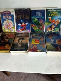 assorted Disney movie vhs cases Holley, 14470