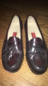 pair of black leather loafers Alpharetta, 30009
