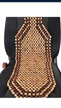 seat cover beads and messages the back and neck while you drive